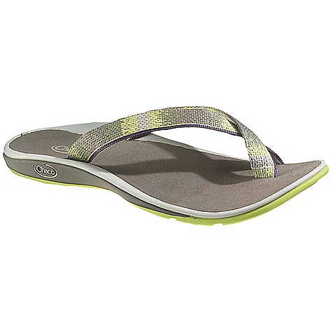 Surf Free Shipping. Chaco Women's Bethe Sandal DECENT FEATURES of the Chaco Women's Bethe Sandal Toe-loop gently wraps and cradles the toe in soft and durable support 25% recycled EcoTread rubber outsole is siped for wet surfaces The SPECS Weight: 6.10 oz / 174 g The SPECS for Upper Polyester jacquard webbing upper Cement construction Fixed fit The SPECS for Midsole Microsuede lined ChaPU polyether polyurethane footbed Luvseat XO2 platform The SPECS for Outsole NearGround siped outsole with EcoTread rubber 2mm lug depth, siped Non-marking - $64.95