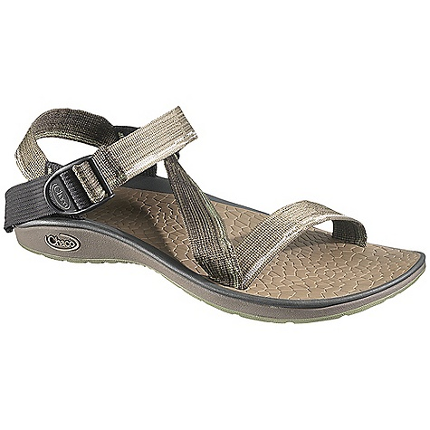 Surf On Sale. Free Shipping. Chaco Men's Mighty Sandal DECENT FEATURES of the Chaco Men's Mighty Sandal Intuitive adjustment system for custom fit Double printed webbing shows two patterns The SPECS Weight: 9.90 oz / 281 g The SPECS for Upper Polyester jacquard webbing upper with webbing heel risers Cement construction Custom Adjust'em fit The SPECS for Midsole ChaPU polyether polyurethane footbed Luvseat XO2 platform The SPECS for Outsole NearGround siped outsole with EcoTread rubber 2-3mm lug depth All-purpose tread design Non-marking - $70.99