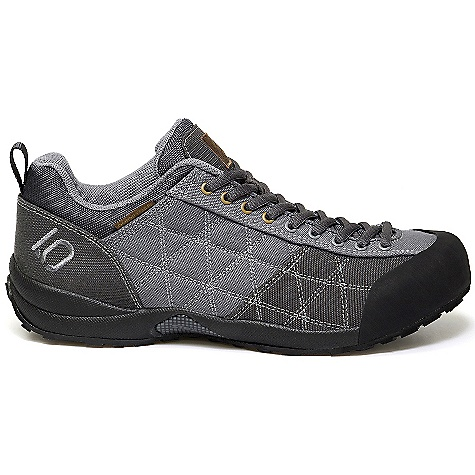 Camp and Hike Free Shipping. Five Ten Men's Guide Tennie Canvas Shoe DECENT FEATURES of the Five Ten Men's Guide Tennie Canvas Shoe Standard bearer for rugged all-terrain footwear There's no better shoe for scrambling on rocky terrain The upper is a durable, breathable cotton canvas designed to take a beating and the outsoles feature high-friction Stealth C4 Dotty tread Bonus feature: This is one of the most vegan-friendly shoes on the market - $109.95