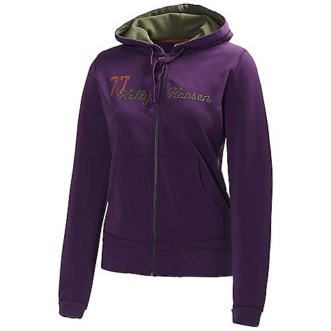 Free Shipping. Helly Hansen Women's Graphic FZ Hoodie DECENT FEATURES of the Helly Hansen Women's Graphic FZ Hoodie Cotton Full front zip Kangaroo pockets Drawstring adjustment Cuff and hem rib Seasonal Helly Hansen graphics Regular fit The SPECS 95% Cotton 5% Elasthan Fitting: Regular fit This product can only be shipped within the United States. Please don't hate us. - $99.95