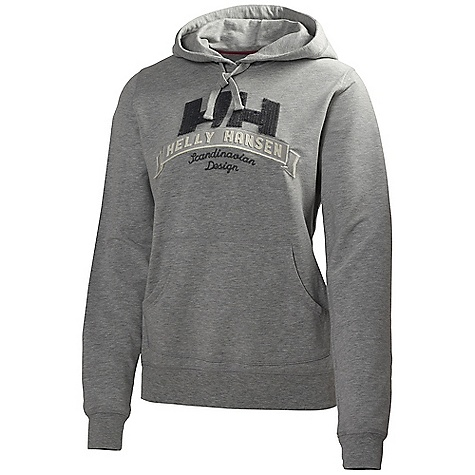 Free Shipping. Helly Hansen Women's Graphic Hoodie DECENT FEATURES of the Helly Hansen Women's Graphic Hoodie Kangaroo pockets Drawstring adjustment Cuff and hem rib Seasonal Helly Hansen graphics Regular fit The SPECS 95% Cotton 5% Elastane This product can only be shipped within the United States. Please don't hate us. - $84.95