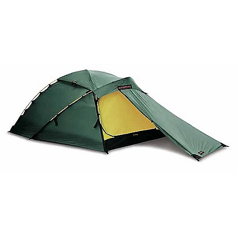 Climbing Free Shipping. Hilleberg Jannu 2 Person Tent DECENT FEATURES of the Hilleberg Jannu 2 Person Tent Kerlon 1200 outer tent fabric and 9 mm poles with multiple crossing points make for an exceptionally lightweight yet stable tent with excellent snow-load handling capability Multiple guy lines on the tent and the vent cover afford even greater stability. Many of the guy line attachment loops on the tent are designed to be wrapped around poles or pole crossing points for maximum support The Jannu has room for two occupants and their gear A single entrance and vestibule afford easy access and plenty of storage space, but keep the weight very low The entrance itself is asymmetric, and allows you to enter and exit from either side or from the end, so you can nearly always get in and out in the lee of the wind The Jannu's ventilation system functions regardless of weather conditions, thanks to its integrated components Highly breathable yet water repellent inner tent fabric Inner tent door has a full no-see-um mesh panel covered with an equal sized, zipper-adjustable fabric panel for greater venting and weather protection options Roof vent in the inner and the outer tent are accessible from inside the tent Both inner and outer tent roof vents can be opened or closed completely. The inner tent vent is no see - um mesh backed by zipper-adjustable fabric panel, and the outer tent vent has an integrated panel of highly water resistant, air permeable and snow-proof fabric, allowing for air-fl ow even if the vent is zipped closed A separate vent cover ensures that the weather stays on the outside, even if the vents are fully open The SPECS Capacity: 2 Minimum Weight: 5 lbs 8 oz / 2.5 kg Packed Weight: 6 lbs 6 oz / 2.9 kg Inner Height: 40in. / 100 cm Inner Tent Area: 36.6 square feet / 3.3 square meter Vestibule Area: 13 square feet / 1.2 square meter Pole (9 mm): 2 x 144.9, 1 x 146.8in. / 2 x 368, 1 x 373 cm Pegs: 15 V-Pegs This product can only be shipped within the United States. Please don't hate us. Moosejaw CANNOT ship Hilleberg products to Japan, Hong-Kong, Korea, or any country in Europe. Sorry about everything. - $785.00
