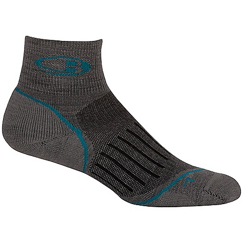 Fitness Icebreaker Women's Run Cushion Mini Sock DECENT FEATURES of the Icebreaker Women's Run Cushion Mini Sock Ultimate running comfort Strategic light cushioning throughout LYCRA enhances fit and dry time Foot-specific, asymmetrical toe box optimises fit Highly breathable - $19.95