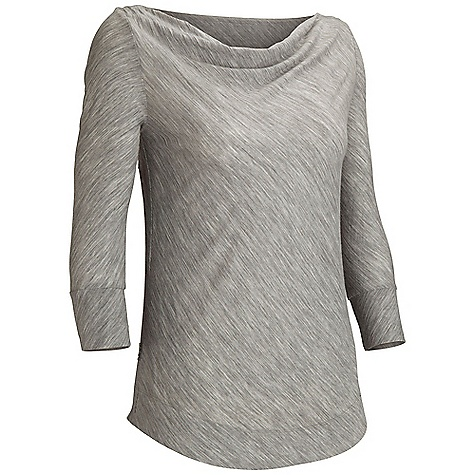 Free Shipping. Icebreaker Women's Willow 3-4 T DECENT FEATURES of the Icebreaker Women's Willow 3/4 T 120gm jersey / 90% merino / 10% nylon Relaxed fit 3/4 sleeves Draped cowl neck Shaped hem Self-fabric cuff Icebreaker pip label - $89.95