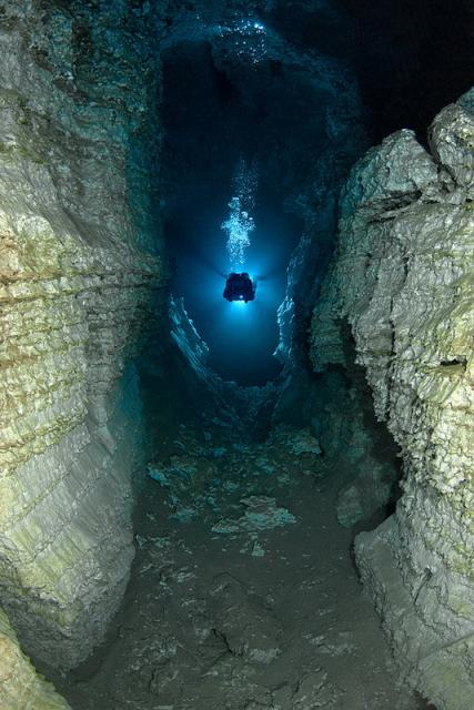 Scuba Largest Underwater Gypsum Cave on Earth