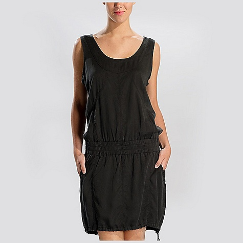 Entertainment Free Shipping. Lole Women's Metropolis Dress DECENT FEATURES of the Lole Women's Metropolis Dress Sleeveless dress with round neckline Elastic waistband 2 hand pockets 1 zip pocket at back Adjustment tunnel at bottom hem Length: 41in. / 104 cm - $99.95