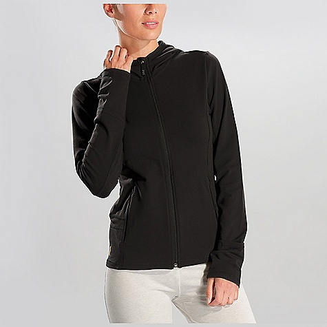 Free Shipping. Lole Women's Studio Cardigan DECENT FEATURES of the Lole Women's Studio Cardigan Watch access system at sleeves Thumbhole at sleeves Two zip hand pockets Reflective logo Length: 25 inches - $119.95