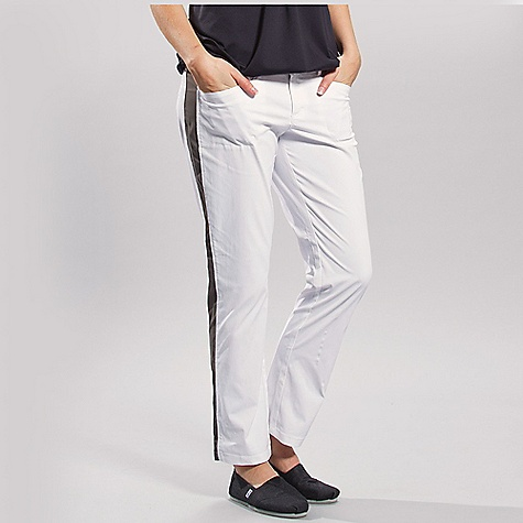 Free Shipping. Lole Women's Ready Pant DECENT FEATURES of the Lole Women's Ready Pant Pants with regular waistband Hook and bar front closure Contrast fabric inserts at side seams 2 hand pockets 1 welt pocket at back Inseam: 30in. / 76 cm - $89.95