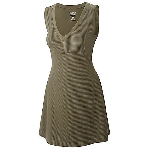 Entertainment Free Shipping. Mountain Hardwear Women's Tonga Dress DECENT FEATURES of the Mountain Hardwear Women's Tonga Dress Soft tonal stripe Comfy cottton fabric feels great Side zip pocket for valuables The SPECS Average Weight: 8 oz / 237 g Center Back Length: 32.5in. / 83 cm Body: Side Stripe V6 Jersey (90% cotton, 10% elastane) - $69.95