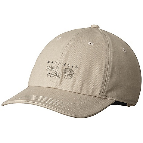 Mountain Hardwear Hardwear Cap DECENT FEATURES of the Mountain Hardwear Hardwear Cap Eyelets at crown provide ventilation Rear buckle adjustment The SPECS Average Weight: 3 oz / 93 g Body: Cotton Woven (100% cotton) - $27.95
