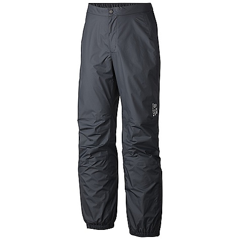 Free Shipping. Mountain Hardwear Men's Plasmic Pant DECENT FEATURES of the Mountain Hardwear Men's Plasmic Pant Dry.Q EVAP accelerates evaporation for more breathability and comfort Partial elastic waist for comfort Articulated knees for mobility Partial elastic hem with Velcro adjustment 9in. ankle zips for easy on/off The SPECS Average Weight: 7 oz / 204 g Inseam: 32in. / 81 cm Body: Dry.Q EVAP 40D 2.5L Ripstop (100% nylon) - $99.95