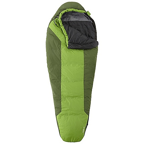 Camp and Hike Free Shipping. Mountain Hardwear Lamina 35 Sleeping Bag The SPECS Temperature Rating: 35deg F / 2deg C Loft Size: 5in. / 13 cm Stuff Size: 6 x 11in. / 15 cm x 28 cm EN Comfort Rating: 41deg F / 5deg C EN Comfort Limit: 32deg F / 0deg C EN Extreme: 3deg F / -16deg C Shell: 40D Micro Ripstop Nylon (100% nylon) Insulation: Thermic Micro Lining: 40D Polyester Taffeta (100% polyester) The SPECS for Regular Fill Weight: 1 lb 04 oz / 560 g Total Weight: 2 lbs 6 oz / 1.07 kg Inside Length: 78in. / 198 cm Shoulder Girth: 62in. / 157 cm Hip Girth: 58in. / 147 cm Foot Girth: 38in. / 97 cm The SPECS for Long Fill Weight: 1 lb 07 oz / 645 g Total Weight: 2 lbs 8 oz / 1.14 kg Inside Length: 84in. / 213 cm Shoulder Girth: 64in. / 163 cm Hip Girth: 60in. / 152 cm Foot Girth: 40in. / 102 cm - $179.95