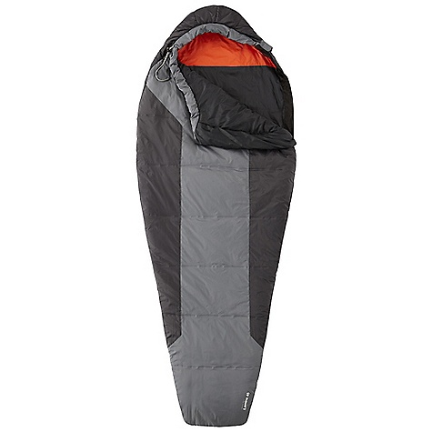 Camp and Hike Free Shipping. Mountain Hardwear Lamina 45 Sleeping Bag The Mountain Hardwear Lamina 45 Sleeping Bag The SPECS Temperature Rating: 45deg F / 7deg C Loft Size: 3in. / 8 cm Stuff Size: 5 x 10in. / 13 cm x 25 cm EN Comfort Rating: 49deg F / 9deg C EN Comfort Limit: 41deg F / 5deg C EN Extreme: 15deg F / -9deg C Shell: 40D Micro Ripstop Nylon (100% nylon) Insulation: Thermic Micro Lining: 40D Polyester Taffeta (100% polyester) The SPECS for Regular Fill Weight: 12 oz / 340 g Total Weight: 1 lb 09 oz / 710 g Inside Length: 78in. / 198 cm Shoulder Girth: 62in. / 157 cm Hip Girth: 58in. / 147 cm Foot Girth: 38in. / 97 cm The SPECS for Long Fill Weight: 14 oz / 396 g Total Weight: 1 lb 11 oz / 760 g Inside Length: 84in. / 213 cm Shoulder Girth: 64in. / 163 cm Hip Girth: 60in. / 152 cm Foot Girth: 40in. / 102 cm - $159.95