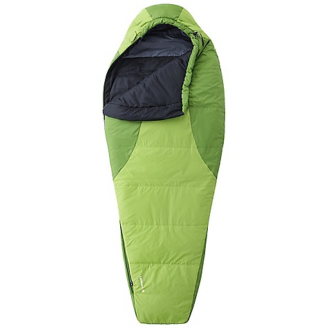 Camp and Hike Free Shipping. Mountain Hardwear Women's Laminina 35 Sleeping Bag The SPECS Temperature Rating: 35deg F / 2deg C Loft Size: 3in. / 8 cm Stuff Size: 7 x 14in. / 18 cm x 36 cm EN Comfort Rating: 35deg F / 2deg C EN Comfort Limit: 24deg F / -4deg C EN Extreme: -6deg F / -21deg C Shell: 40D Micro Ripstop Nylon (100% nylon) Insulation: Thermic Micro Lining: 40D Polyester Taffeta (100% polyester) The SPECS for Regular Fill Weight: 1 lb 07 oz / 640 g Total Weight: 2 lbs 5 oz / 1.06 kg Inside Length: 72in. / 183 cm Shoulder Girth: 60in. / 152 cm Hip Girth: 58in. / 147 cm Foot Girth: 36in. / 91 cm The SPECS for Long Fill Weight: 1 lb 07 oz / 645 g Total Weight: 2 lbs 8 oz / 1.13 kg Inside Length: 76in. / 193 cm Shoulder Girth: 62in. / 157 cm Hip Girth: 60in. / 152 cm Foot Girth: 38in. / 97 cm - $179.95