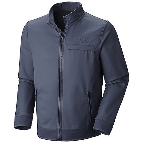 Free Shipping. Mountain Hardwear Men's Beemer Jacket DECENT FEATURES of the Mountain Hardwear Men's Beemer Jacket Interior zip pocket for keys, ID, other small items Zip chest pocket and hand pockets with Metaluxe zippers The SPECS Average Weight: 1 lb 6 oz / 624 g Center Back Length: 27in. / 69 cm Body: Twill Softshell (100% polyester) - $174.95