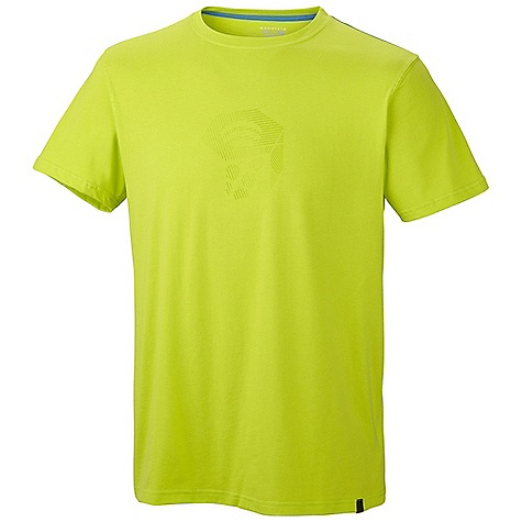 Mountain Hardwear Men's Crimper SS T DECENT FEATURES of the Mountain Hardwear Men's Crimper Short Sleeve T 100% cotton tee The SPECS Average Weight: 5 oz / 150 g Center Back: 28in. / 71 cm Body: Cotton tee 160gm Jersey (100% cotton) - $29.95
