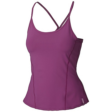 Fitness Free Shipping. Mountain Hardwear Women's Nulana Tank DECENT FEATURES of the Mountain Hardwear Women's Nulana Tank Wicking, fast drying, stretch fabric Super durable pick-resistant warp knit construction The SPECS Average Weight: 5 oz / 136 g Center Back Length: 16in. / 41 cm Body: Nulana Warp Knit (85% polyester, 15% elastane) - $49.95