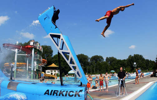 Wake airkick...for your backyard pool