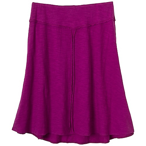 Free Shipping. Prana Women's Dahlia Skirt DECENT FEATURES of the Prana Women's Dahlia Skirt Slub jersey A-line skirt with raw edge seams Functional side entry pockets Outseam: 21.5in. / 54.6 cm The SPECS 100 Organic Cotton - $49.95