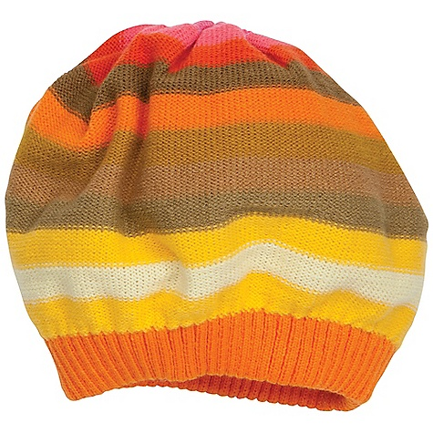 Prana Women's Patsy Beret DECENT FEATURES of the Prana Women's Patsy Beret Knit beret with colorblock stripe Standard fit The SPECS 100 Acrylic - $25.95