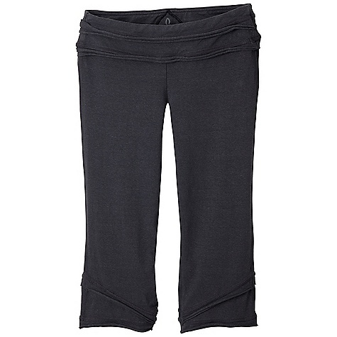 Free Shipping. Prana Women's Cecilia Knicker DECENT FEATURES of the Prana Women's Cecilia Knicker Raw edge seaming details at waistband Double layer hem Flatlock stitching Gusset for added comfort Inseam: 19in. / 48.3 cm Fitted Low Rise - $64.95