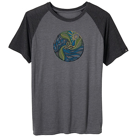 Prana Men's Big Sur Tee DECENT FEATURES of the Prana Men's Big Sur Tee Mandala inspired by natural elements Lightweight heathered jersey Waterbased screenprint Standard Fit The SPECS 60 Cotton / 40 Polyester - $34.95