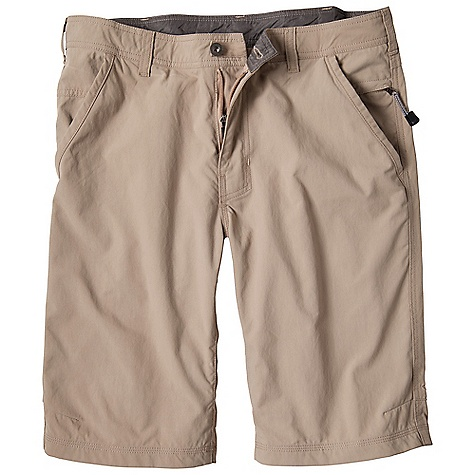 Free Shipping. Prana Men's Palomar Short DECENT FEATURES of the Prana Men's Palomar Short Durability without the weight Designed with a street inspired aesthetic Contrast stitching with self pocket binding for abrasion resistance Quick drying Wicking Inseam: 33in. / 83.8 cm, Waist: 11in. / 27.94 cm Standard Fit The SPECS 100 Nylon - $67.95