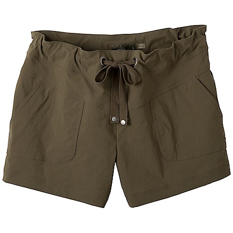 Free Shipping. Prana Women's Bliss Short DECENT FEATURES of the Prana Women's Bliss Short Stretch woven fabrication Active, outdoor short Front patch pockets Drawcord waistband with rivet and grommet detailing UPF rating of 40+ Inseam: small: 4in. / 10.2 cm Relaxed fit - $54.95