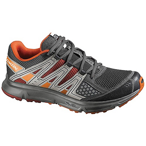 Camp and Hike On Sale. Free Shipping. Salomon Men's XR Shift Shoe DECENT FEATURES of the Salomon Men's XR Shift Shoe Outsole: Contagrip Lt, Contagrip Ha, Non Marking Contagrip, Os Tendon Chassis: Light Weight Muscle Sockliner: Ortholite Midsole: Dual Density EVA, Molded EVA, WSR Technology, Compressed EVA The SPECS Weight: 11.3 oz / 320 g Protective TPU Toe Cap Sensifit Sensiflex Midsole Height: 9mm / 20mm - $73.99