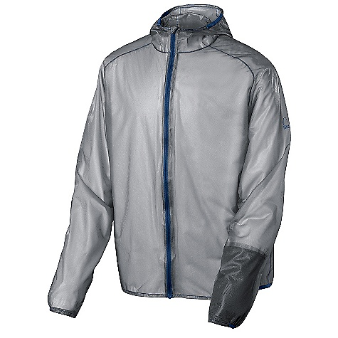 "Free Shipping. Sierra Designs Men's Cloud Airshell Jacket DECENT FEATURES of the Sierra Designs Men's Cloud Airshell Jacket Fully-Taped PVC-Free Seams One Sleeve Pocket Attached Hood Includes Stuff Sack Stuffs Into Sleeve Pocket Partial Binding Opening The SPECS Center Back Length: 30 1/2"" Weight: 4 oz Shell Fabric: 100% Nylon Tricot, 15D, 52 g/m2, WR - $124.95"