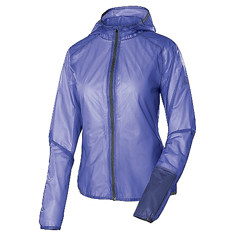 "Free Shipping. Sierra Designs Women's Cloud Airshell Jacket DECENT FEATURES of the Sierra Designs Women's Cloud Airshell Jacket Fully-Taped PVC-Free Seams One Sleeve Pocket Attached Hood Includes Stuff Sack Stuffs Into Sleeve Pocket Partial Binding Opening The SPECS Center Back Length: 27"" (M) Weight: 3.5 oz Shell Fabric: 100% Nylon Tricot, 15D, 52 g/m2, WR - $124.95"