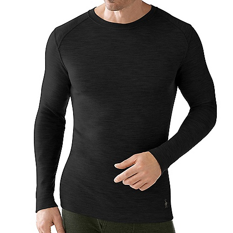 On Sale. Free Shipping. Smartwool Men's Midweight Crew Top DECENT FEATURES of the Smartwool Men's Midweight Crew Top Form Fit Interlock Knit; Upf 50+ Crew Neck With Set-In Long Sleeves Shoulder Panels Eliminate Top Shoulder Seams Flatlock Seam Construction Eliminates Chafing Heat Transfer Logo At Left Sleeve Cuff The SPECS Knit in China of 100% Merino Wool - $47.99