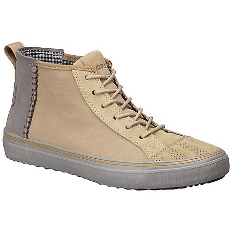 Free Shipping. Sorel Men's Berlin Chukka Boot DECENT FEATURES of the Sorel Men's Berlin Chukka Boot Canvas/leather upper Foam insert in footbed for comfort Rubber Outsole Molded PU footbed with heel cup and arch support Vulcanized rubber midsole Weight: 11.7oz / 331.7g - $99.95