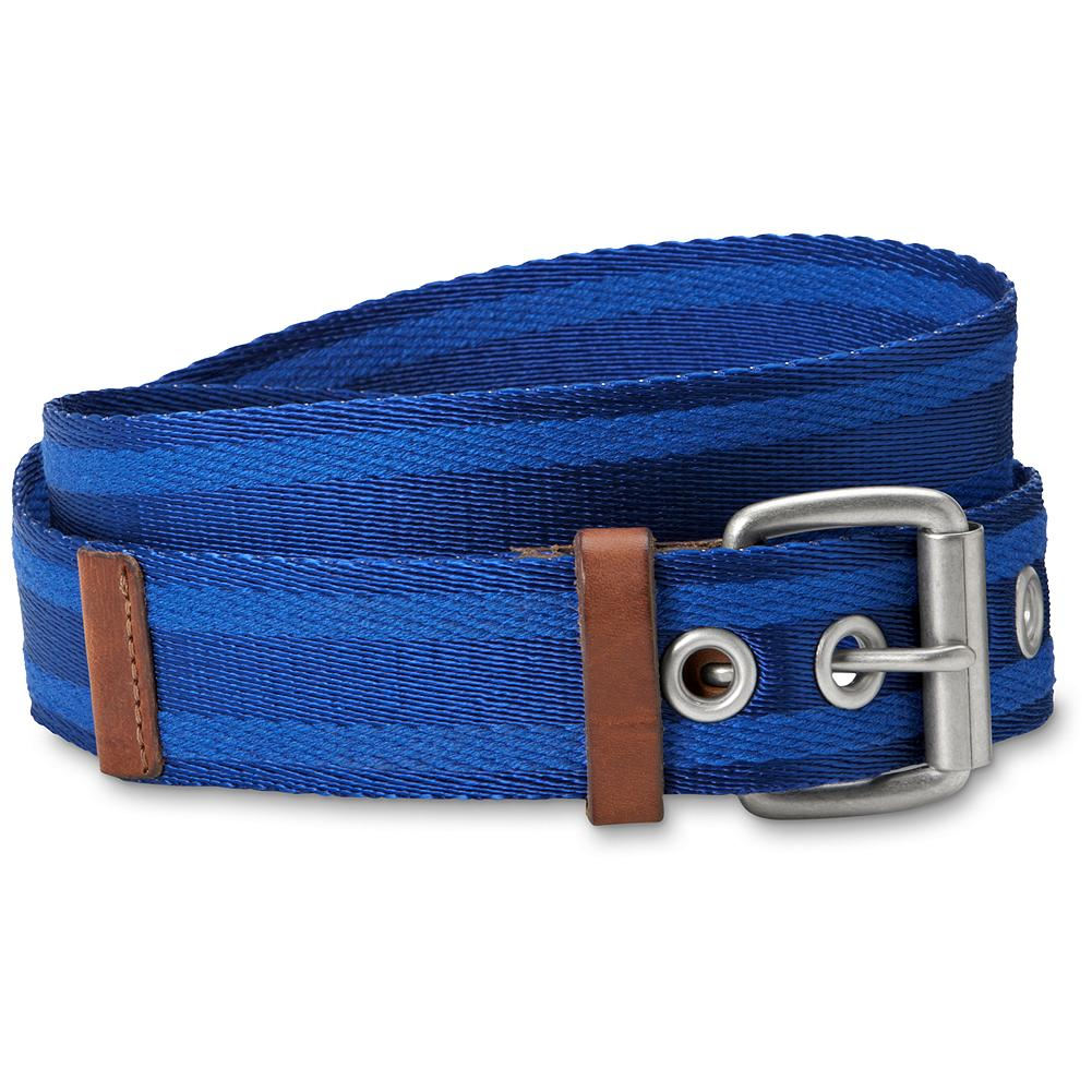 Entertainment Eddie Bauer Web Belt - Add some color to your life. Nylon web strap with leather trim. Antiqued silver buckle. Imported. - $9.99
