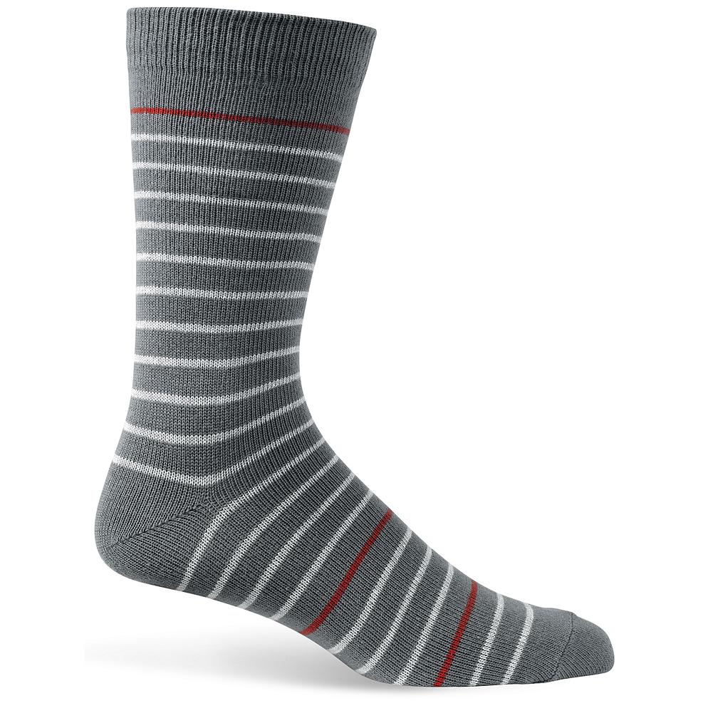 Entertainment Eddie Bauer Striped Socks - Amp up the style with a pair of striped socks. Imported. - $4.99