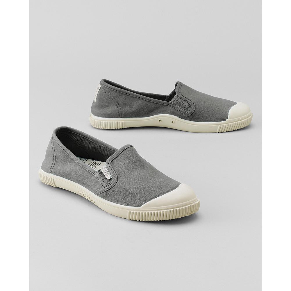 Fitness KEEN Maderas Slip-Ons - Step in and go. These lightweight canvas slip-on shoes feature non-marking natural rubber soles that make them perfect for the car deck or the boat deck.  This style is running slightly large. We recommend ordering a half size down from your usual size. - $29.99
