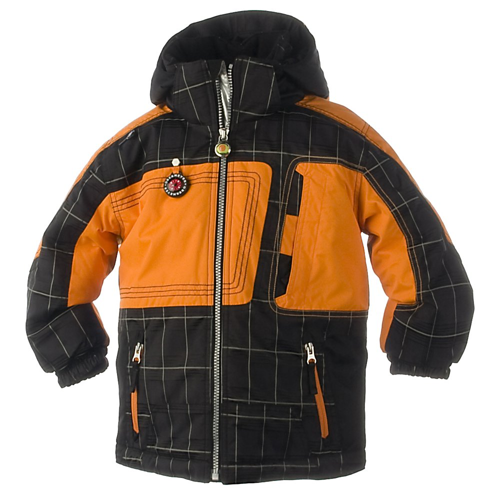 Ski Obermeyer Nac-Nac Toddler Ski Jacket - Nic-nac, paddy whack, give the boy a coat! A mid-length, unstructured fit, the Nac-Nac is built with a heavy-duty StormTech fabric (100% Nylon) that has been coated with HydroBlock. StormTech is a favorite among parents who are looking for a long-lasting, tough fabric that won't restrict their child as he plays. The exclusive HydroBlock technology, a polyurethane hydrophilic coating, is applied to the underside of the fabric to make it waterproof and breathable. Nac-Nac is insulated, as well, with 220gm of Permaloft in the body, 180gm in the sleeves and 80gm in the hood.The I-Grow system features a simple and unique way of increasing the life of a child's garment by simple snipping specifically placed colored threads. You can lengthen the cuffs up to two inches! Enhance your child's outdoor playtime with a little help from the Nac-Nac! Features: Working compass, Ski pass D-ring, . Exterior Material: Mosaic - 95% nylon, 5% CD polyester with HydroBlock V, Reflex trim / StormTech - 100% nylon dobby with HydroBlock V, Lining: Yes, Collar Lining: Fleece, Softshell: No, Insulation Weight: 220 grams body; 180 grams sleeve; 80 grams hood, Removable Liner: No, Taped Seams: None, Waterproof Rating: 5,000mm, Breathability Rating: 5,000g, Hood Type: Removable, Pit Zip Venting: No, Pockets: 4-6, Electronics Pocket: No, Goggle Pocket: No, Powder Skirt: Yes, Cuff Adjustment: No, Hood: Yes, RECCO Rescue System: No, Warranty: Lifetime, Use: Ski, Battery Heated: No, Race: No, Rain Jacket: No, - $49.99