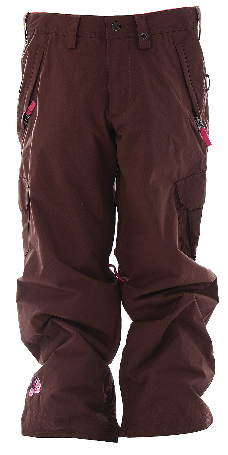 Snowboard The Burton Elite Girl's Snowboard Pants has premium performance with room to stash everything.Key Features of The Burton Elite Girl's Snowboard Pants: 5,000mm Waterproof 4,000g Breathability 2-Layer Coated Soft Twill Fabric [5,000MM, 4,000G] Cargo Pockets Critically Taped Seams DRYRIDE Durashell Includes Girl's Pant Features Package Thermacore Insulation [60G Throughout] - $49.95