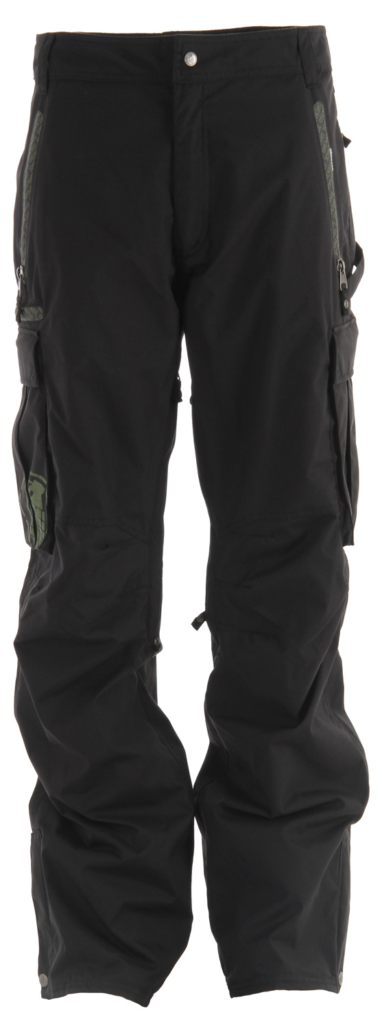 Snowboard Key Features of the Grenade General Snowboard Pants: 10,000mm Waterproof 10,000g Breathability Critically taped seams Nylon taffeta lining Cargo pockets Zippered pockets - $87.95