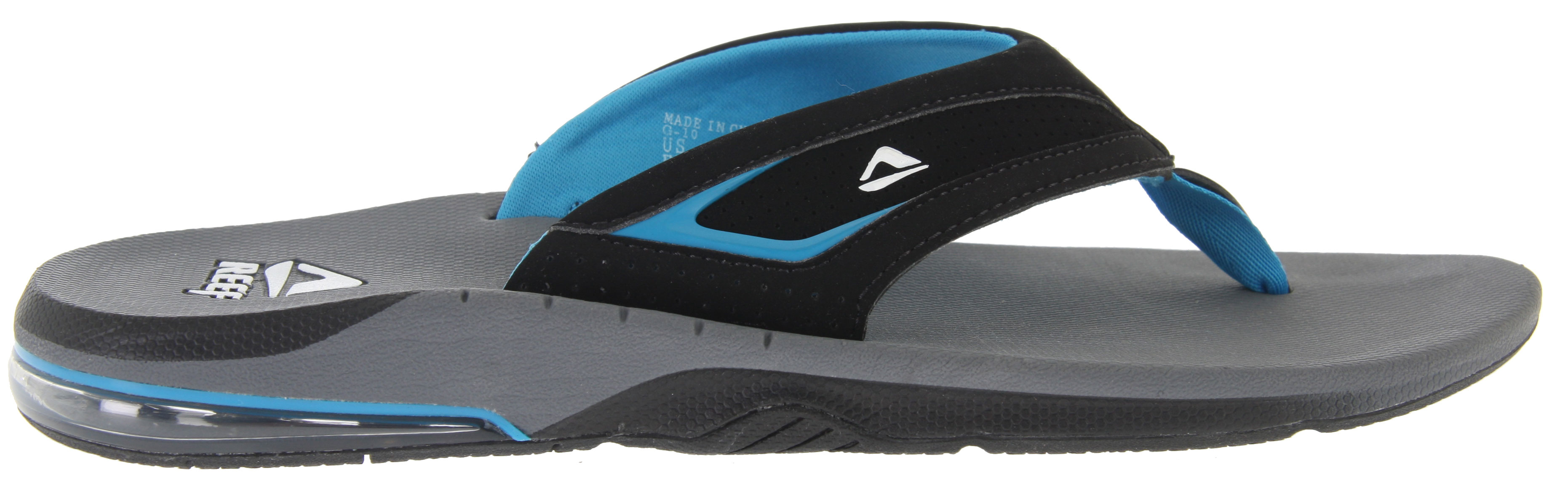 Surf Not all sandals are created equally. Poorly made sandals can cause blisters, pain, and provide little support. For a pair of sandals that are not only great for your feet, but stylish and fun, Reef Springtide Sandals are the way to go. These sandals are made with synthetic nubuck, so water won't be an issue. They also have soft padding for added comfort, so you can keep going without foot pain slowing you down. The footbed is contoured and provides anatomical arch support, and the heels have enclosed airbags and soft polyurethane to prevent rubbing, blisters, and pain. Don't let ill-fitting sandals stop your fun on the beach, choose Reef Springtide Sandals and you'll be comfortable all day.Key Features of the Reef Springtide Sandals: Comfortable Water Friendly Synthetic Nubuck Upper Soft Textile Lining With Soft Padding For Comfort Contoured Compression Molded Eva Footbed With Anatomical Arch Support Full 360 Degree Low Profile Heel Airbag Enclosed In Soft Polyurethane - $41.95