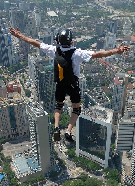 Extreme KL Tower Base Jump_175