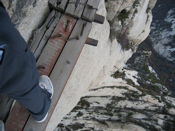 Camp and Hike Earth's Deadliest Hiking Trail, Mt. Hua in China
