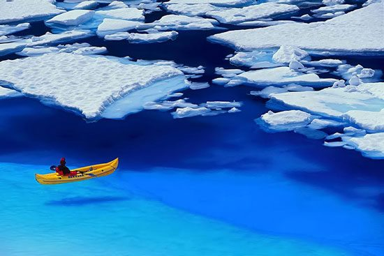 Kayak and Canoe Glacier Bay, Alaska
