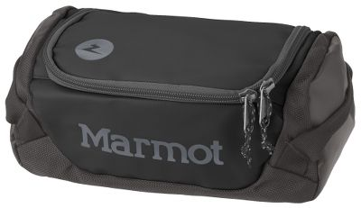Camp and Hike Secure your daily essentials in this rugged, compact Marmot Mini Hauler bag. Super-tough 1,680-denier ballistic nylon stands up to years of abuse. D-shaped zipper provides easy access. Internal zippered pocket under the lid for your valuables. Internal webbing loop for use as a toiletry kit. Imported.Capacity: 366 cu. in./6 liters.Weight: 6.3 oz.Colors: Slate Grey/Black, Team Red/Slate Grey. - $29.00