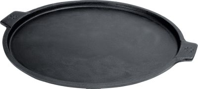 Camp and Hike Cast-iron pans have been revered for their even heat for centuries, so why not use one to craft, bake and serve your own delicious pizzas. Super-durable, one-piece construction allows for use over grills or in an oven. Built-in handles. Easy to clean. Diameter: 14. - $39.99