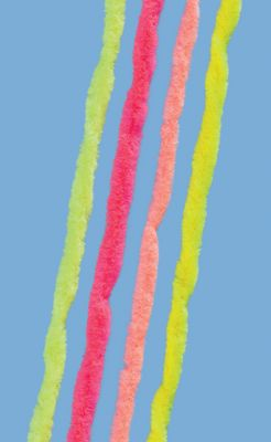 Flyfishing Add a fluorescent touch to your flies with this brightly-colored fluorescent nylon chenille. - $2.99
