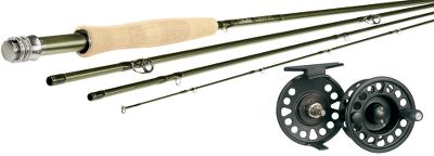 Flyfishing Pair a Cabelas CZN fly rod with a Prestige Plus fly reel. Combos include Cabelas Prestige Premier fly line and Prestige backing and a Czech Nymph leader. Our CZN fly rods are designed and tested specifically for the European nymphing technique referred to as Czech, Polish or French nymphing. These long, lightweight rods provide the line control and feel required for this productive method. The supple tip and stiff butt are ideal for the technique. The tip enhances line control, subtle strikes and protects frail tippets. The butt helps cast weighted flies and controls big fish. A unique blend of IM6, IM7 and IM8 graphite achieves just the right actions. With the extra length and enhanced actions, these rods also excel for standard indicator nymph fishing and are right at home in the float tube or drift boat. The satin olive finish is aesthetically pleasing, but affords a stealthy presentation. Woven graphite reel seats with aluminum rings. AAA cork grips. Titanium-plated snake guides. SiC stripper guide. Cordura nylon rod tube. Cabelas return policy applies. We took the value-packed performance of our popular Prestige reels and stepped everything up a notch. Disc-drag system sports a cork drag washer and adjusts to a wider range of settings. The cast-aluminum frame has an unmatched strength-to-weight ratio, and the new mid-arbor design yields plenty of backing capacity for battling long-running fish. The molded, paddle-style handle and large drag-adjustment knob round out the features on this exceptional reel at an amazingly low price. Color: Olive. - $239.99