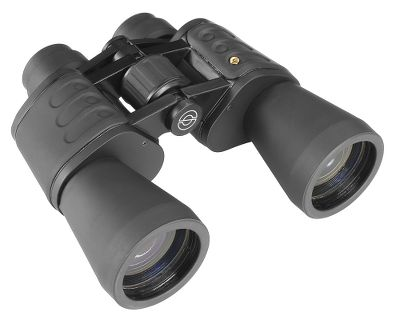 Hunting Porro prisms further Simmons reputation for reliable and durable optics at affordable prices. These have fully coated optics for brightness and a wide field of view. The Center focus system brings images into view quickly. Large objective lenses deliver excellent light transmission to enhance viewing in low light. Lightweight, yet durable rubber coating. - $19.88