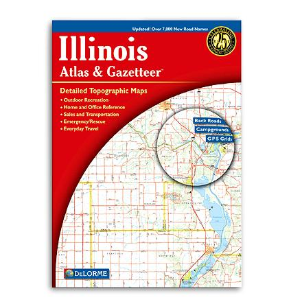 Entertainment Complete topographic maps of the entire state of Illinois--details include back roads, backwater lakes and streams, and campgrounds - $19.95
