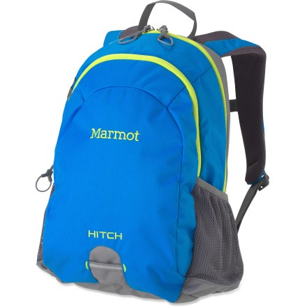 Camp and Hike The Marmot Hitch pack fits your kid's small body and big schedule, comfortably handling load-hauling duty for athletics, academics or an adventure on the trail. - $49.00